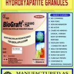 BioGraft Synthetic (alloplast) bone graft granules and preforms